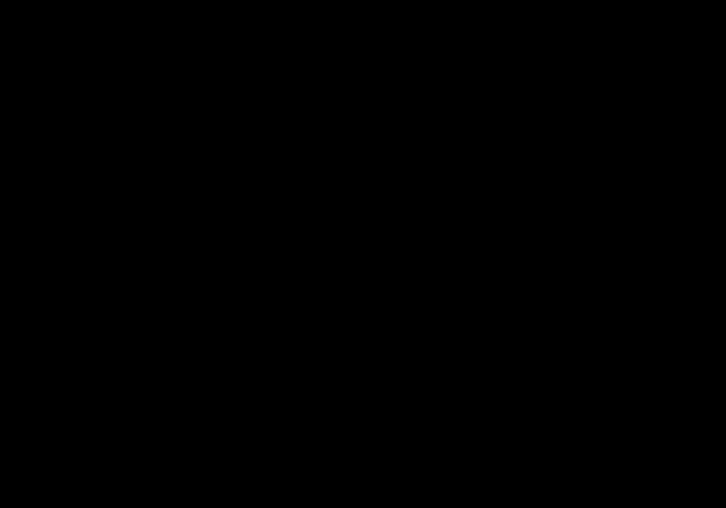 schwarzer Pfeil nach rechts unten gebogen